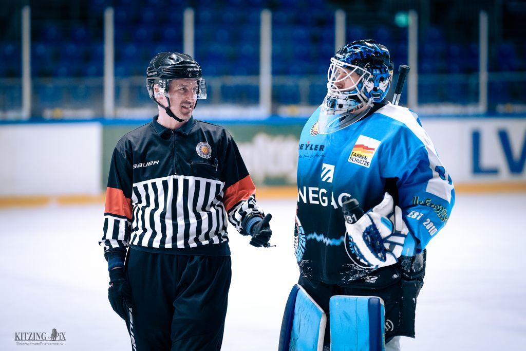Florian Eichelkraut trifft zum 200. Mal für die IceFighters