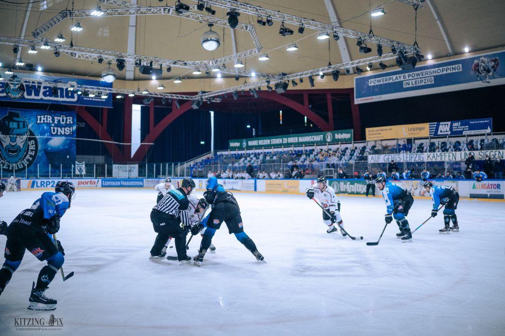 Herne stoppt Siegesserie der EXA IceFighters