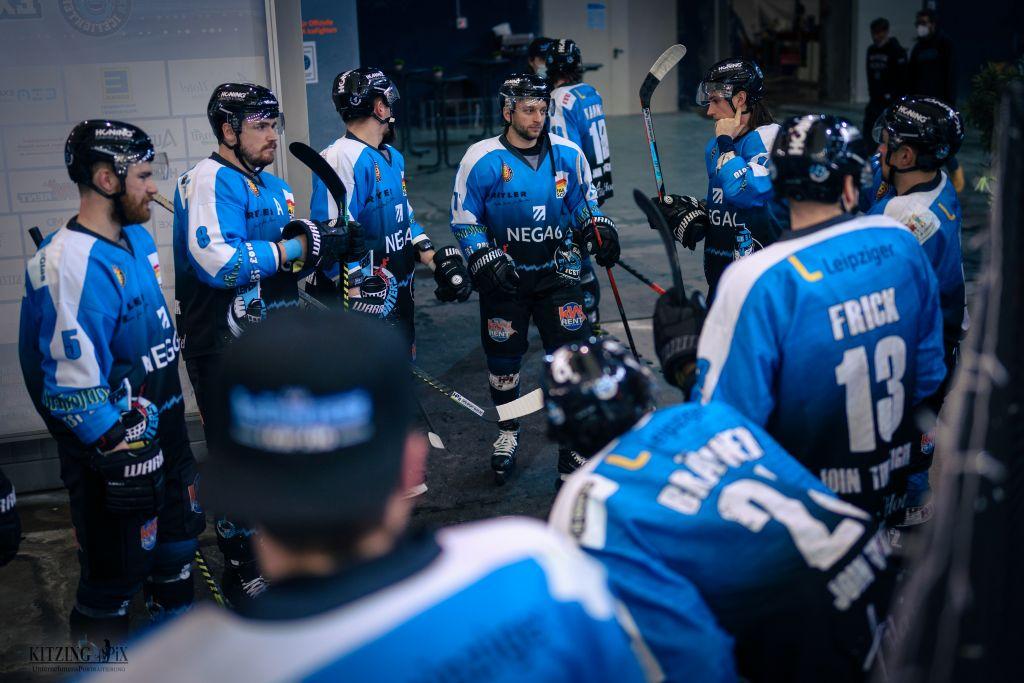 EXA IceFighters Leipzig verlieren auch zweites Viertelfinalspiel